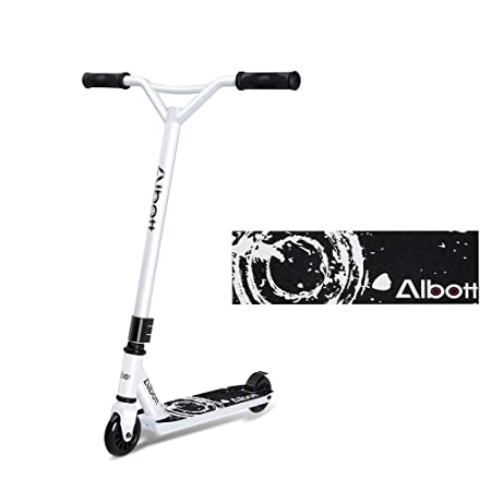 Amazon.com: Albott Sports Pro Push Stunt Scooter Trick Kick ...