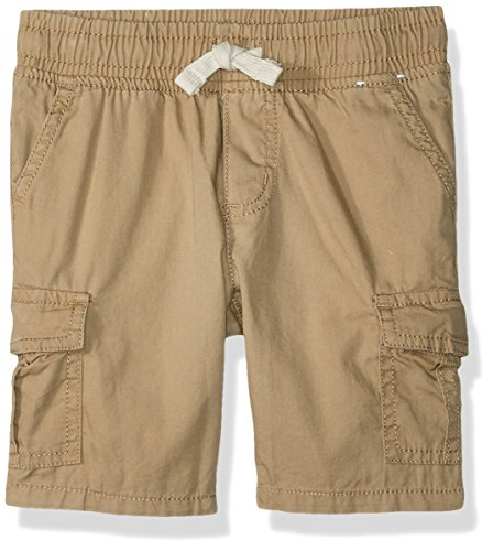 Toddler Boys Cargo Shorts Khaki (Gymboree Toddler Boys' Woven Drawstring Cargo Short, Khaki, 5T)