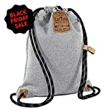 LOCTOTE Flak Sack II – World's Toughest Theft-Resistant Drawstring Backpack | Slash-Proof | Lockable | Portable Safe (Heather Grey) Review