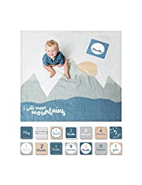 Lulujo Milestone Blanket - I Will Move Mountains