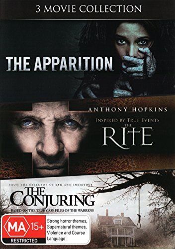 The Apparition / The Rite / The Conjuring | 3 Discs | NON-USA Format | PAL | Region 4 Import - Australia