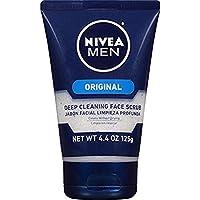 Exfoliante facial de limpieza profunda Nivea for Men, 4.4 oz. Tubos (Pack de 4)