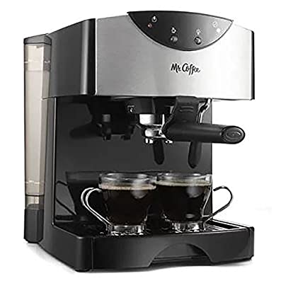 Mr. Coffee Cafe 15-Bar Pump Espresso & Cappuccino Maker (Certified Refurbished)