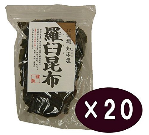 Genuine food Marushima Hokkaido Shiretoko production Rausu kelp <80g> 20 Kekesu sales goods by Marushima