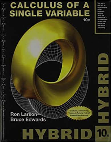 Calculus of a single variable hybrid with enhanced webassign for calculus of a single variable hybrid with enhanced webassign for calculus 2 terms 12 months printed access card 10th edition fandeluxe Images