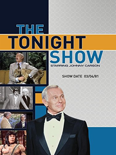 The Tonight Show starring Johnny Carson - Show Date: 03/04/81 (Last Week Tonight With John Oliver Tv Show)