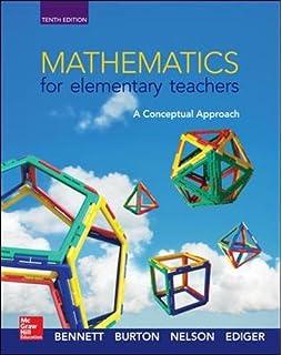 Amazon com: Mathematics for Elementary Teachers: A