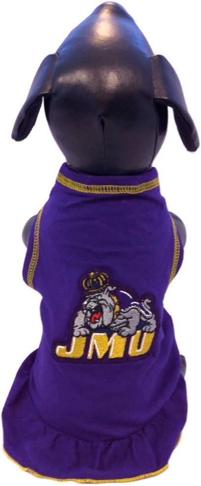 NCAA James Madison Dukes Cheerleader Dog Dress
