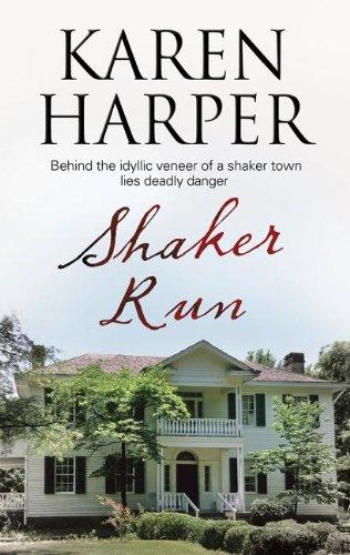 book cover of Shaker Run