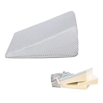 Amazon.com: Almohada de cuña para cama, sistema de cojín de ...