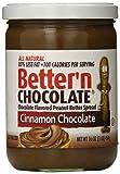 Better'n Peanut Butter Chocolate Spread, Cinnamon, 16 Ounce