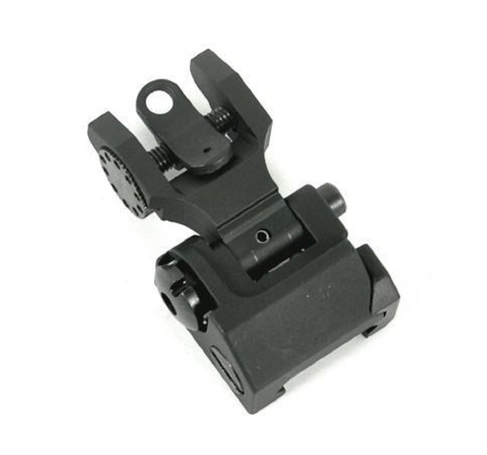 Iron Sights ( HK-A2 ) Tactical Rapid Transition Front & Rear Flip Up Backup Iron Battle Sights Set by Green Blob Outdoors by Green Blob Outdoors (Image #7)
