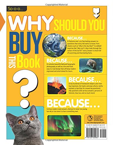 National Geographic Kids Why?: Over 1, 111 Answers to Everything