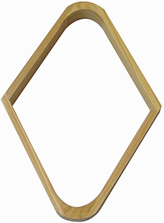 WXS Triángulo de Billar, Rack Triángulo de 9 Bolas de Billar/Piscina, Diamante de Madera Dura para Bolas de 2-1/4 tamaños (Color : B): Amazon.es: Deportes y aire libre