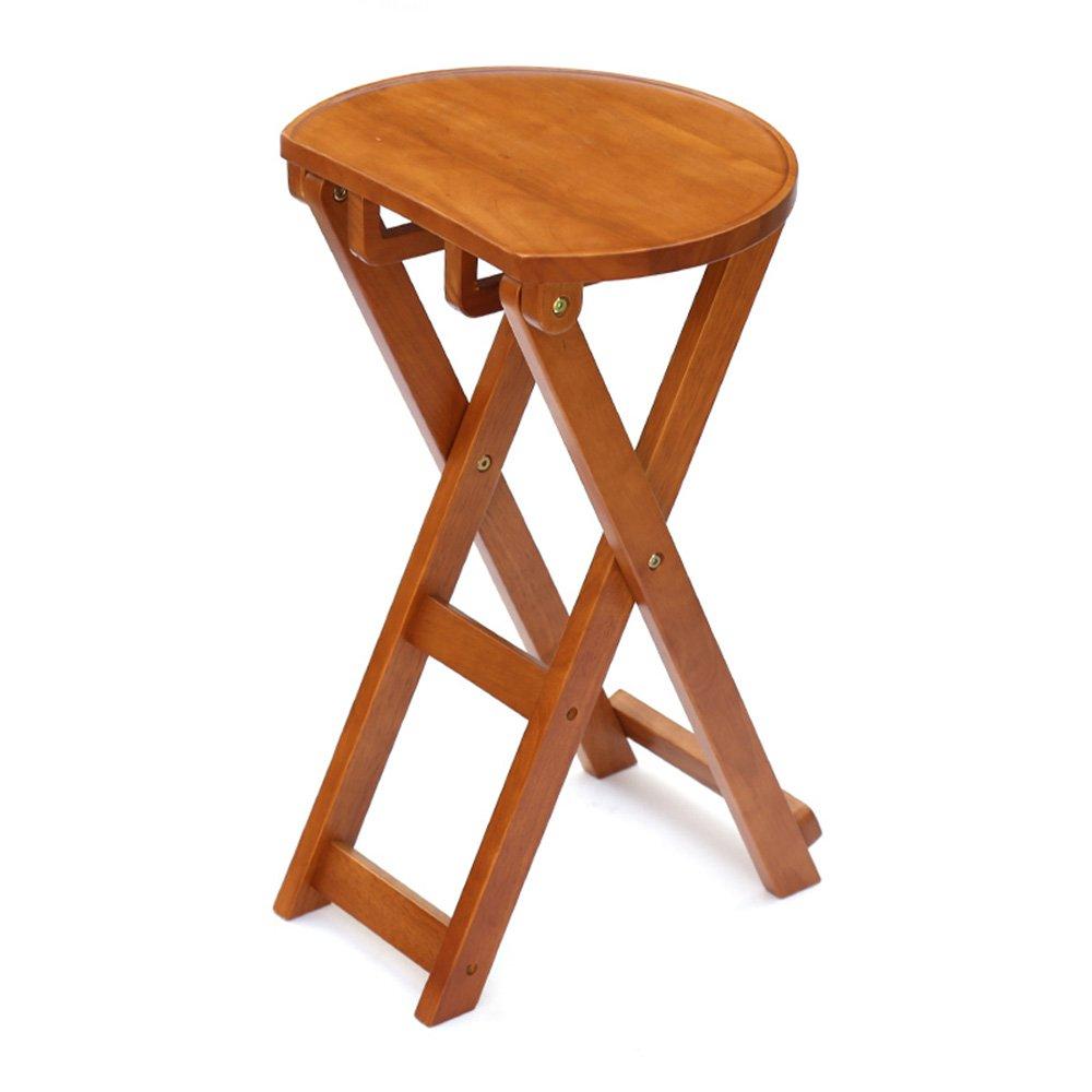 Honey 62.5cm MEIDUO Durable Selles Tabouret de salle à hommeger pliant en bois de Housewares MultiCouleure facultatif pour intérieur extérieur (Couleur   Rose, taille   62.5cm)