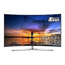 """Samsung UE55MU9000TXZT UHD Smart TV Curvo, 55"""", Serie 9 MU9000, Tecnologia LED, Argento [Classe di efficienza energetica A]"""