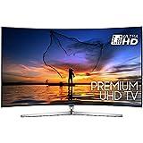 "Samsung UE55MU9000TXZT UHD Smart TV Curvo, 55"", Serie 9 MU9000, Tecnologia LED, Argento"