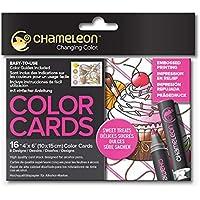 Chameleon Color Cards-Sweet Treats Boyama Kartları, Tatlı Yiyecekler