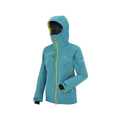 Millet-Abrigo Gore-tex-Ld Crystal Mountain Gtx azul para mujer, color