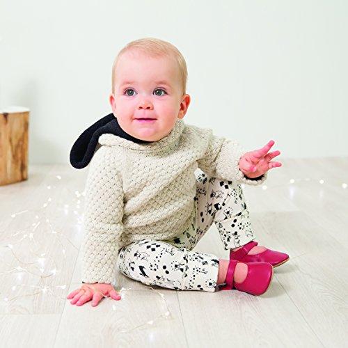 Bobux 4366 Baby Krabbelschuhe Mary Jane Sandale silber Gr.: XL (21-27 Monate) 2S121