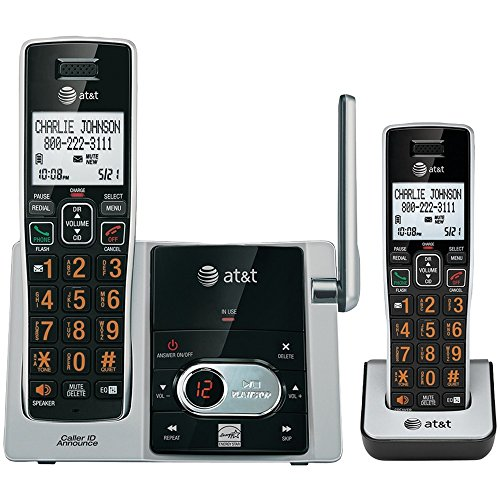 at and T CL82413 DECT 6.0 Cordless Phone with Answering System - 4 Handsets