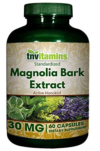 Magnolia Bark Extract 30 Mg Capsules- 60 Capsules
