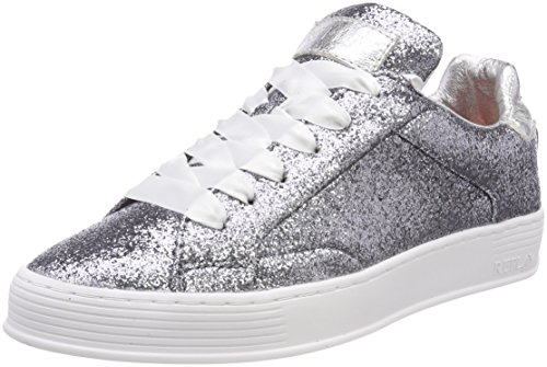 Smoke Welh Replay Damen Sneaker Silber wO55Ix8