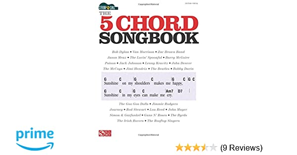 Amazon.com: Strum & Sing: The 5 Chord Songbook (0884088611088): Hal ...