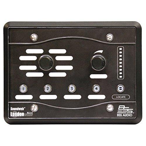 (BSS BLU-8-V2-BLK | HiQnet Programmable Zone Controller Black)