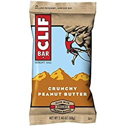 CLIF ENERGY BAR - Crunchy Peanut Butter - 2.4 oz, 12 Count (Pack of 2)