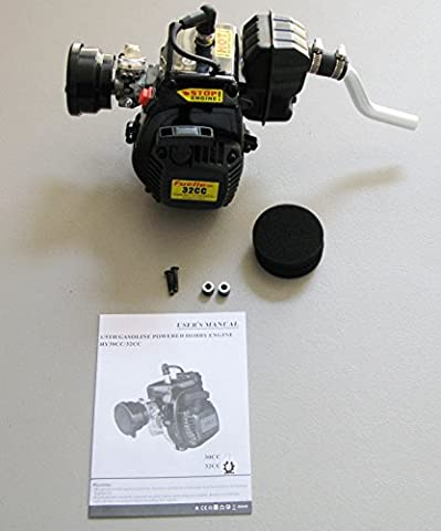 New RedCat Rampage MT V3 Complete 32cc Engine wit Muffler and Air Filter - Rampage Air