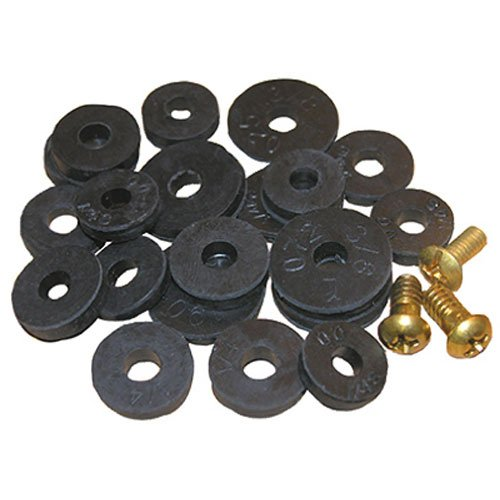 - LASCO 02-1263 Washer Assortment Flat Washers with Screws