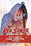 The Complete Gail Simone Red Sonja Oversized Ed. HC