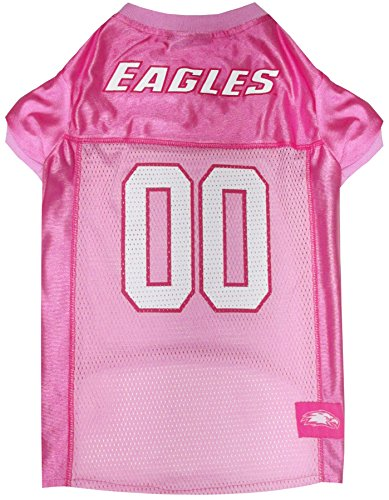(NCAA Boston College Eagles Dog Pink Jersey, X-Small. - Pet Pink Outfit.)