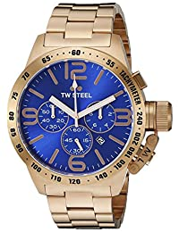 TW Steel Men's CB184 Analog Display Quartz Rose Gold Watch
