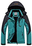 Century Star Mens Active Warm Winter Gift Jacket Hoodie Mountain Rainwear