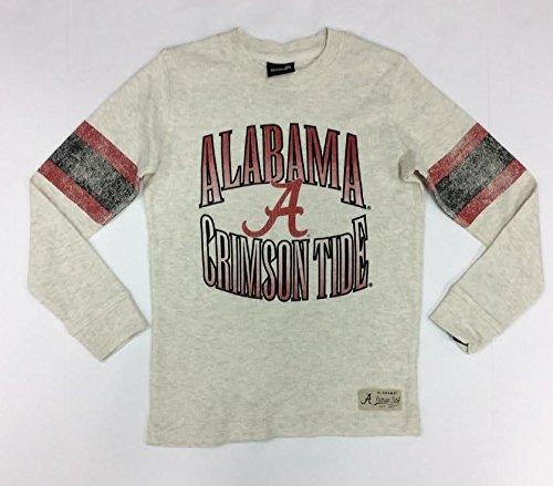 (Alabama Crimson Tide Gen2 Youth Logo Waffle Shirt (Large))