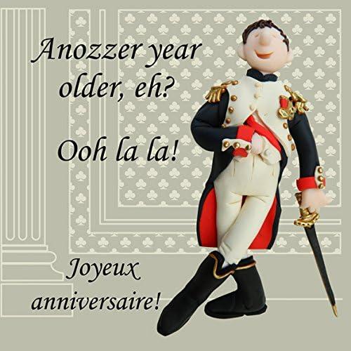 funny card Happy birthday card French card birthday card banana card food card bananniversaire funny birthday card