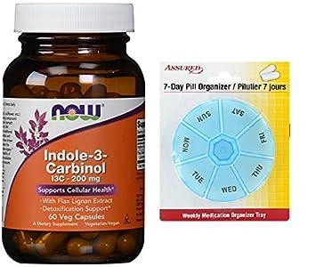 AHORA indol 3-Carbinol (I3C) 200 mg, 60 vegetales cápsulas