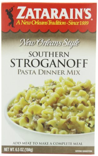 ZATARAIN'S Dinner Pasta, Southern Stroganoff, 6.5-Ounce (Pack of -