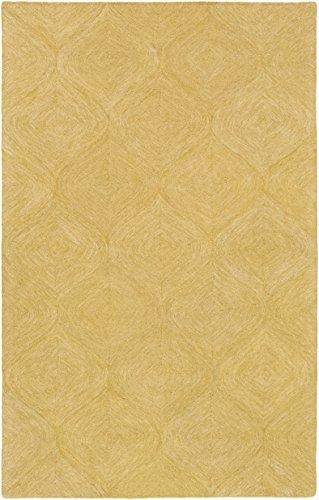 Artistic Weavers HMT-2360 Hermitage Cooper Rug, Yellow, 2' x (Cooper Wool)