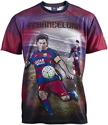 Fc Barcelone - Lionel Messi - Camiseta Oficial Hombre, Talla DE ...
