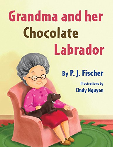 Grandma and Her Chocolate Labrador
