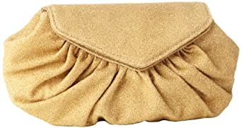 Lauren Merkin Diana DC8S250 Clutch,Khaki Glass Encrusted,One Size