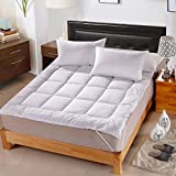 KELE Hotel Bedding Grinding Wool Comfort Cushion Padded mat-A 180x200cm(71x79inch)