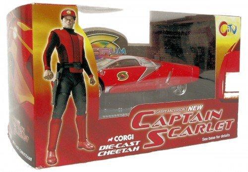 Gerry Anderson's New Captain Scarlet Die-Cast Cheetah