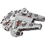 Akrobo 79213 Series Star Wars Model Kits Millennium Falcon Force Type Building Block Toys for Kids, Small (Multicolour) - 367 Pieces