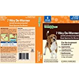 Sentry HC WormX Plus Dog Dewormer (Round/Hook/Tapeworm) Small Dog, 2-Count