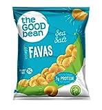 The Good Bean Gluten-Free Crispy Favas, Sea Salt, 50 Count