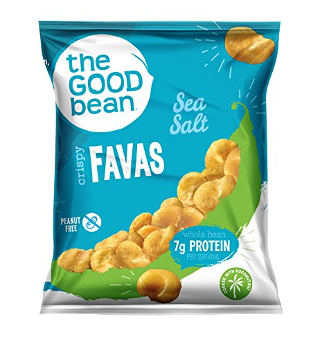 The Good Bean Gluten-Free Crispy Favas, Sea Salt, 50 Count ()
